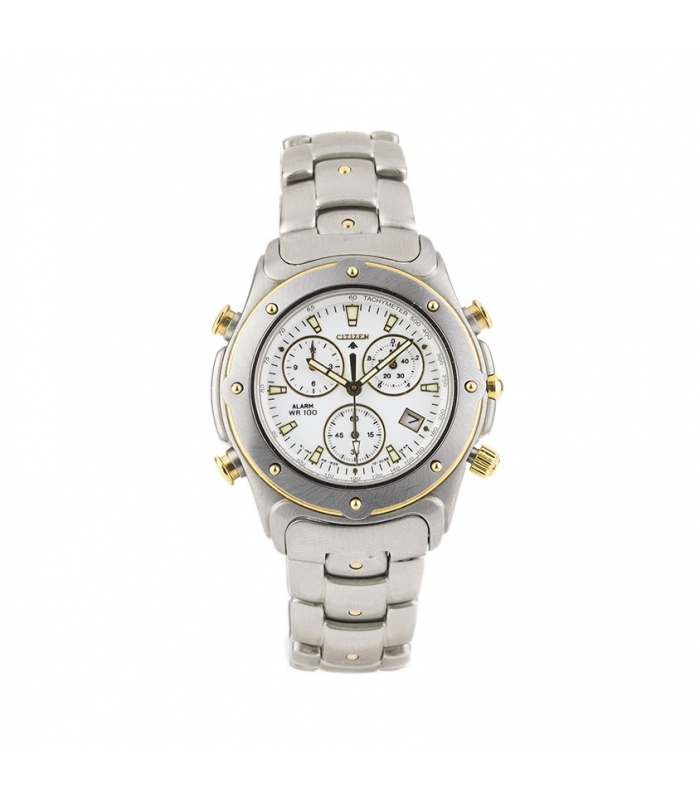 Reloj  de caballero Citizen, Cronógrafo y alarma