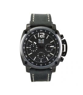 Reloj de caballero S&S negro