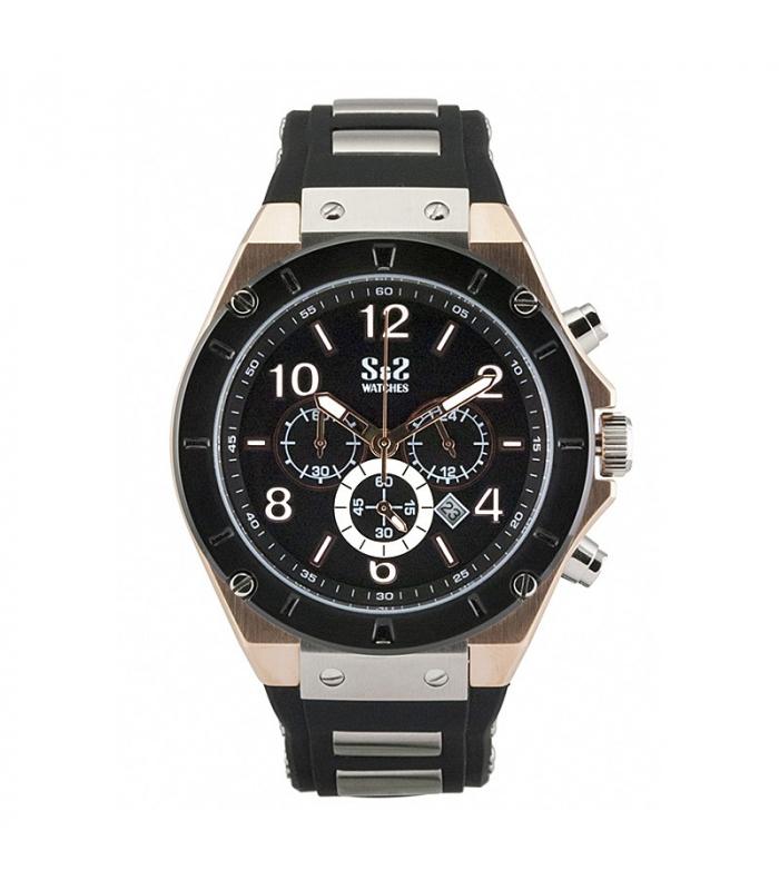 Reloj Caballero S&S acero
