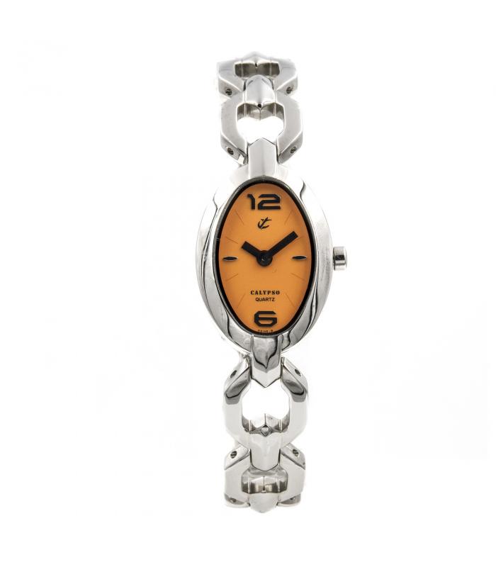 Reloj de señora Calypso con esfera ovalada - MODELO: 5146