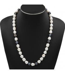 Collar de perlas fresh water cultivadas en agua dulce