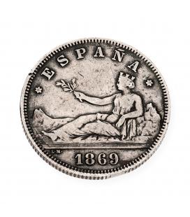 Moneda Española de plata – Gobierno provisional – 1869