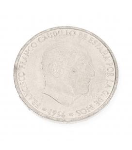 Moneda de plata Española de Francisco Franco Caudillo