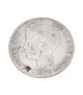 Moneda de plata Española de Alfonso XIII – 1900