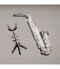 Saxofón de Swarovski finales siglo XX