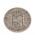 Moneda Española de Plata De Alfonso XII – 1885