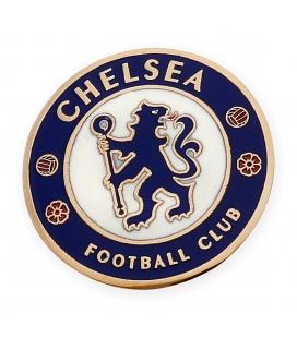 Emblema del Chelsea F.C. Esmaltado en Oro Amarillo
