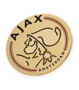 Emblema Ajax en Oro Amarillo y Diamante