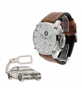 Conjunto Reloj S&S y Llavero para BMW
