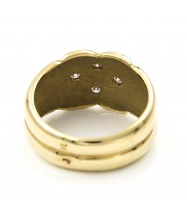 Sortija Oro amarillo con Diamantes