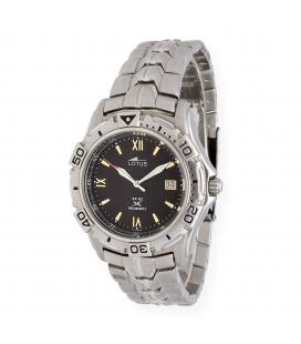 Reloj para caballero Lotus Megaquartz modelo 9723/3B