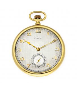 Reloj de Bolsillo Movado de Oro de Ley 18k