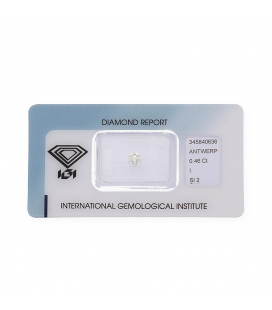 Diamante Talla Brillante de 0,46 ct I – SI 2