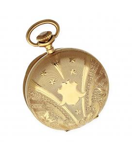 Reloj de Bolsillo Patent Medailles de Oro de Ley 18k