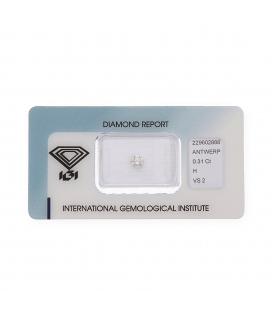 Diamante Talla Brillante de 0,31ct H – VS 2