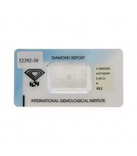 Diamante Talla Brillante de 0,40 ct H – VS 2