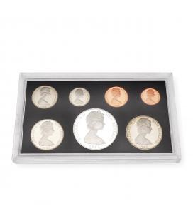 Colección de Monedas de Nueva Zelanda de 1985