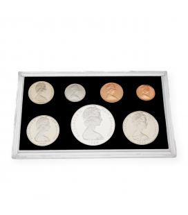 Colección de Monedas de Nueva Zelanda de 1984