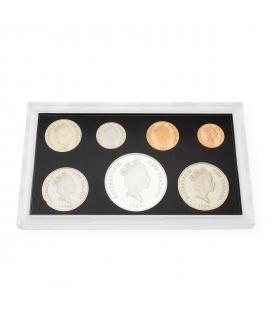 Colección de Monedas de Nueva Zelanda de 1986