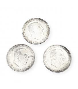 Lote de Monedas Españolas de 100 Pesetas del 1966
