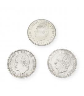 Lote de Monedas Españolas de 2000 Pesetas del 1994 y 1995