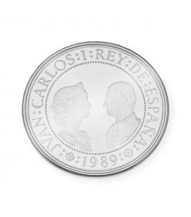 Moneda Española de 2000 Pesetas de 1989 Quinto Centenario