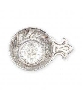 Concha Bautismal de plata contrastada primera ley 925/1000.