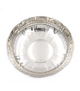 Fuente decorativa en plata de ley