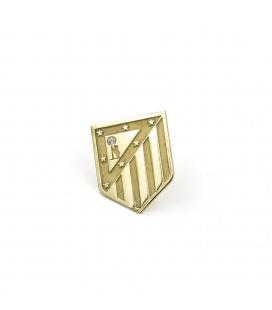 Atlético de Madrid Pin Oro de Ley 18 k Diamante