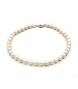 Collar de Perlas Cultivadas y Cierre de Marinero de Plata 925