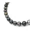 Collar de Perlas de Tahití y Oro Blanco 18 kt
