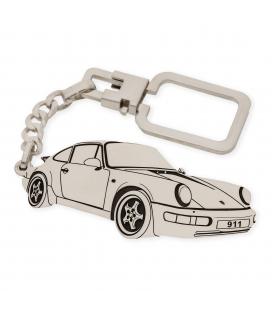 Llavero Porsche 911 en Plata de Ley 925