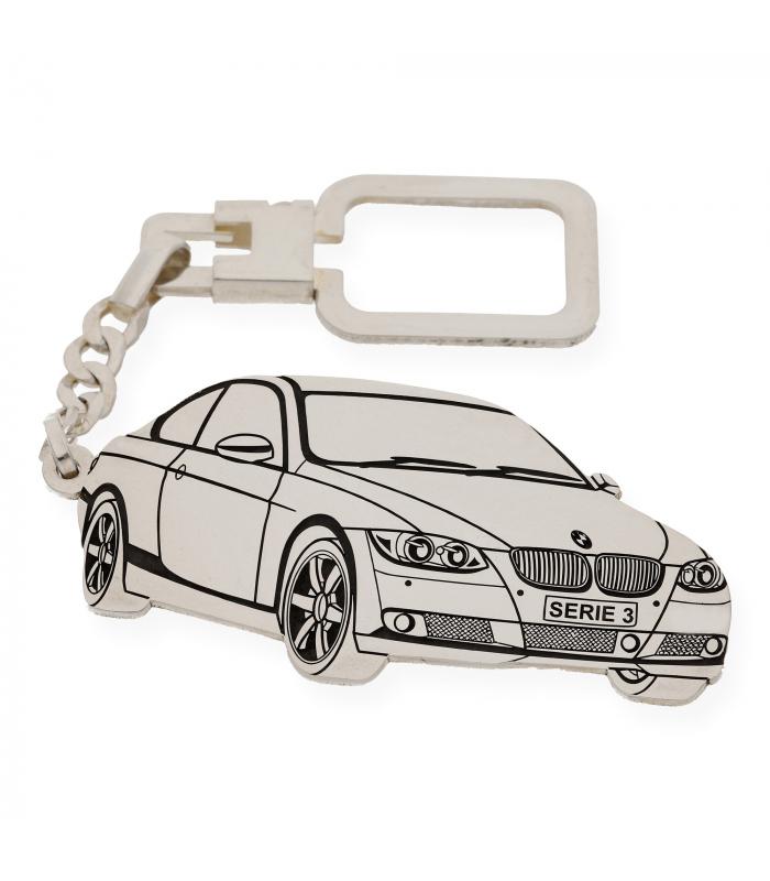 Llavero BMW M3 en Plata de Ley 925