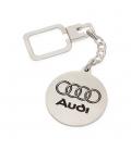 Llavero Audi en Plata de Ley 925