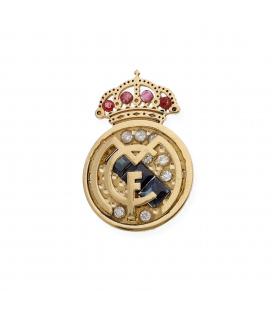 Pin de Oro Diamantes Rubíes y Zafiros del Real Madrid