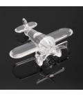 Avión de cristal de Swarovski