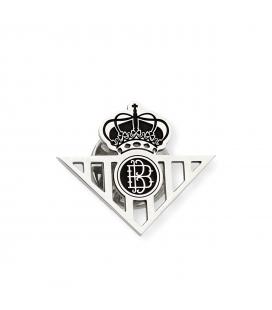 Pin Real Betis Balompié de plata de Ley 925