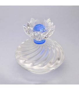 Joyero Flor de cristal de Swarovski