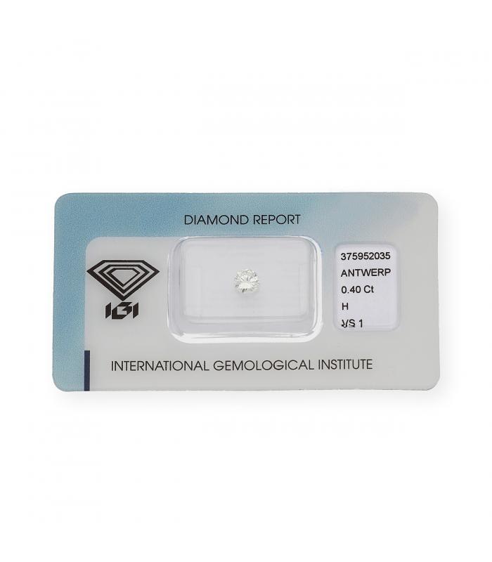 Diamante Talla Brillante de 0,40 ct H – VS 1