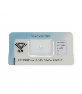 Diamante Talla Brillante de 0,30 ct H – SI 1
