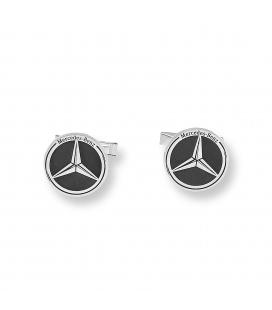 Conjunto reloj caballero S&S para Mercedes y gemelos plata