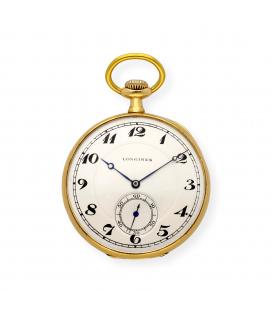 Reloj de Bolsillo Longines de Oro de Ley 18k