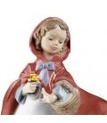 Lladró Figura de La Caperucita Roja 01008500
