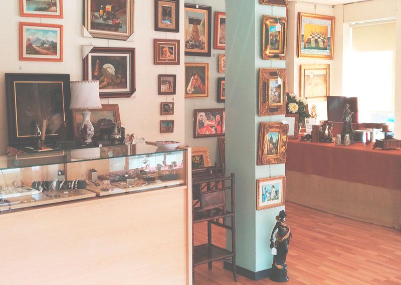 Interior Joyería Regents