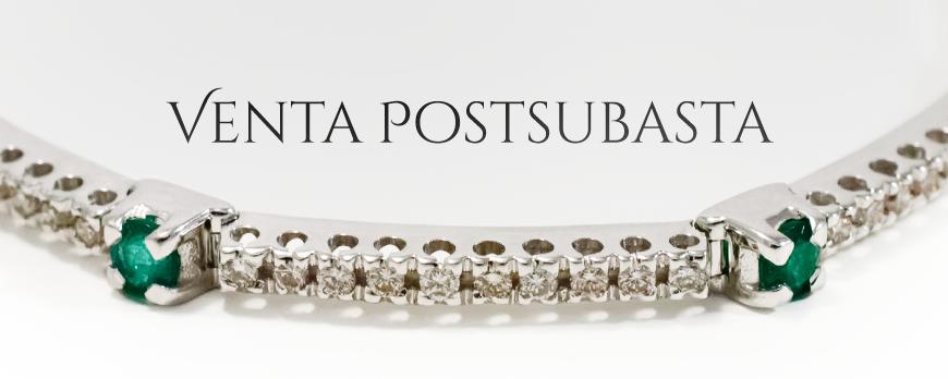 Ya está disponible la sección de Venta Postsubasta