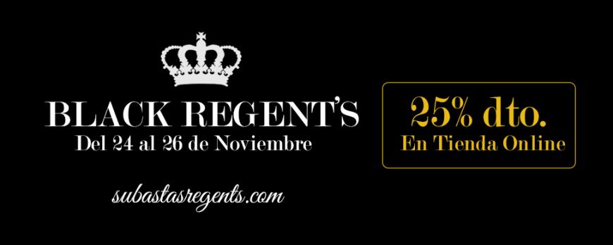 Aprovecha el Black Regent's y consigue un 25% de descuento en joyas