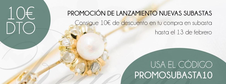 Promoción subastas desde 0€