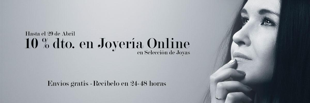 Descuento en Joyería Online